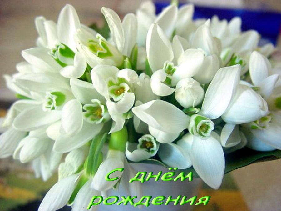 С днем рождения весенние поздравления с