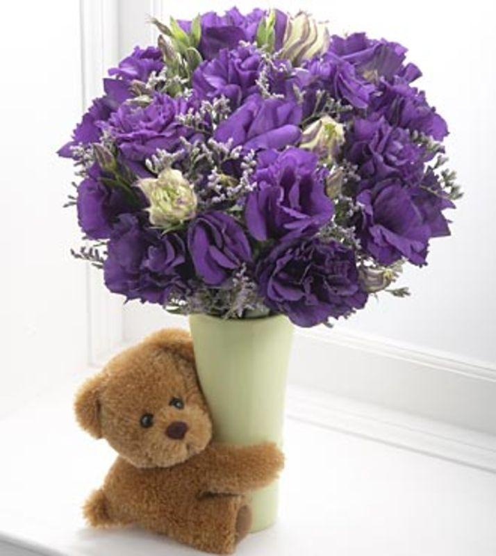 Букет из цветов на день рождения своими руками